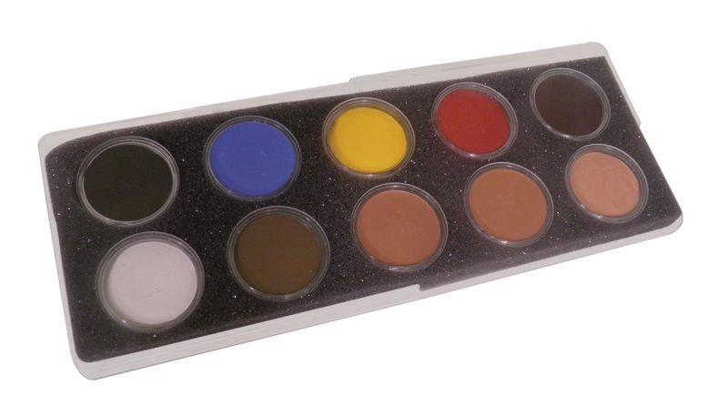 Fards crème Maqpro : maquillage formation au secourisme