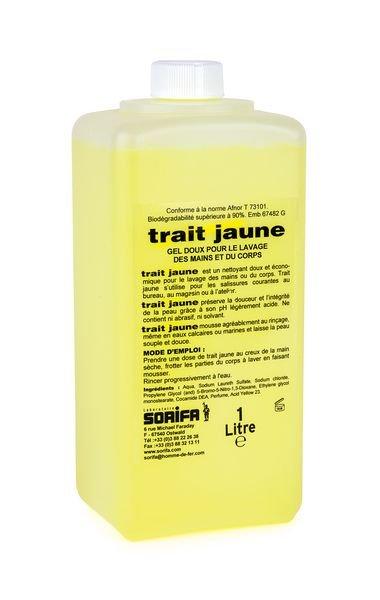 Gel nettoyant Trait jaune pour salissures courantes