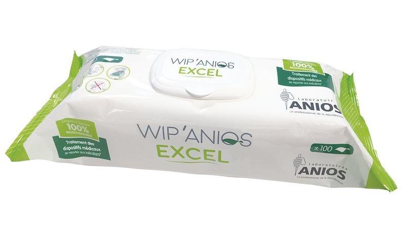 Lingettes désinfectantes Wip'Anios Excel