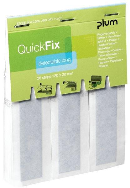 Recharge pansements longs détectables QuickFix PLUM