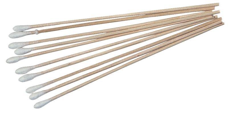Bâtonnets écouvillons en bois non stériles