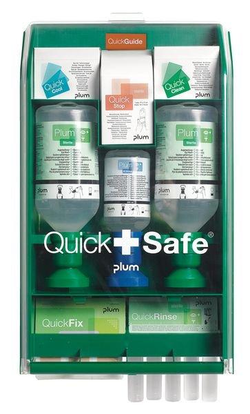 Station lavage oculaire Quick Safe industrie complète