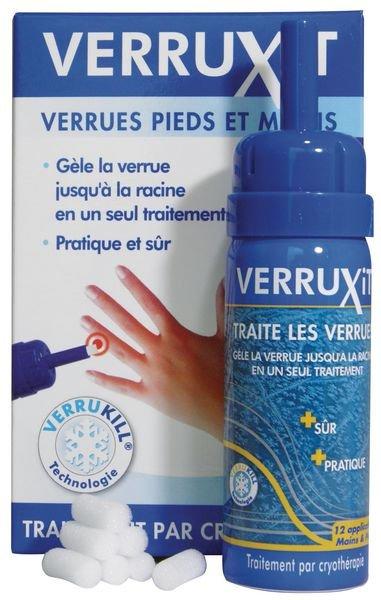 Verruxit anti-verrues pieds et mains