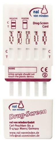 Test urinaire de dépistage de stupéfiants 10 drogues