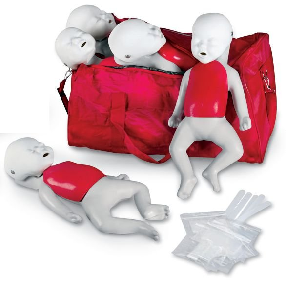 Kit 5 mannequins de secourisme Basic Buddy bébé