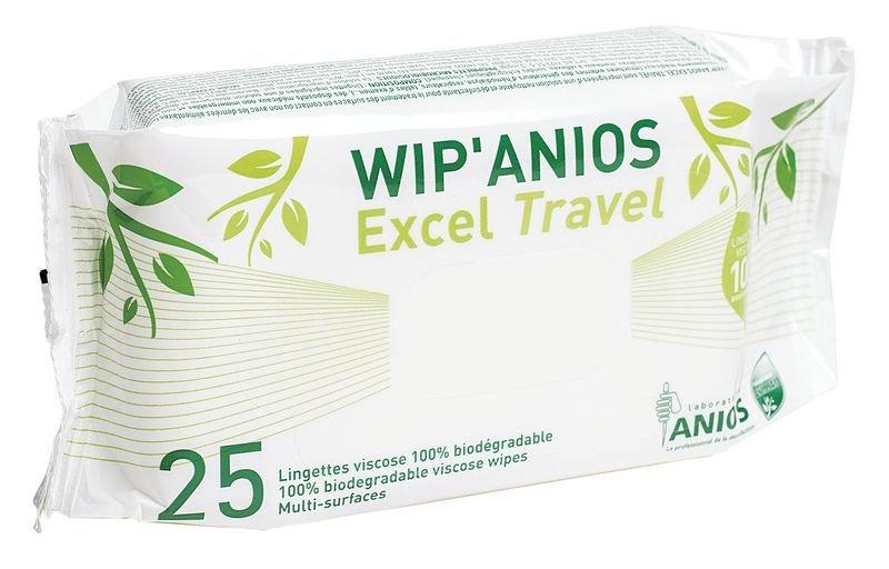 Lingettes désinfectantes Wip'Anios Travel