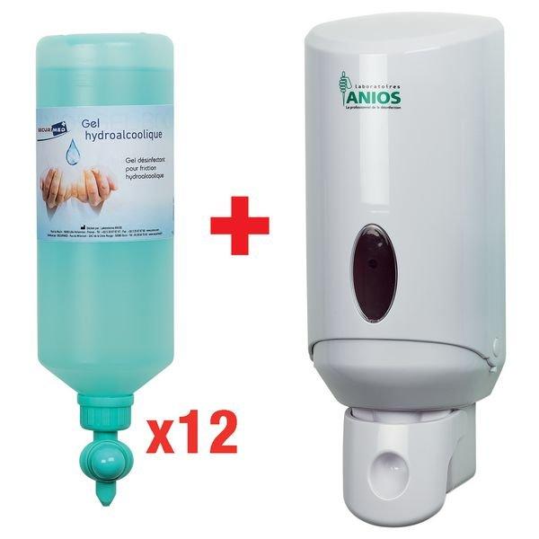 Pack 2 1 Gel Hydroalcoolique Desinfectant Wyritol Flacon A