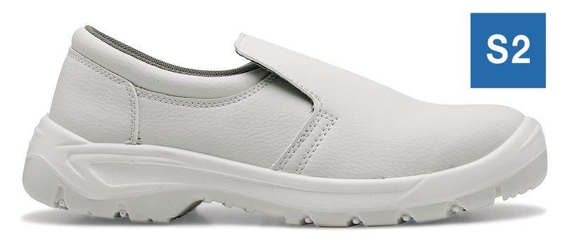 Chaussures de sécurité S2 mixtes Sugar blanches