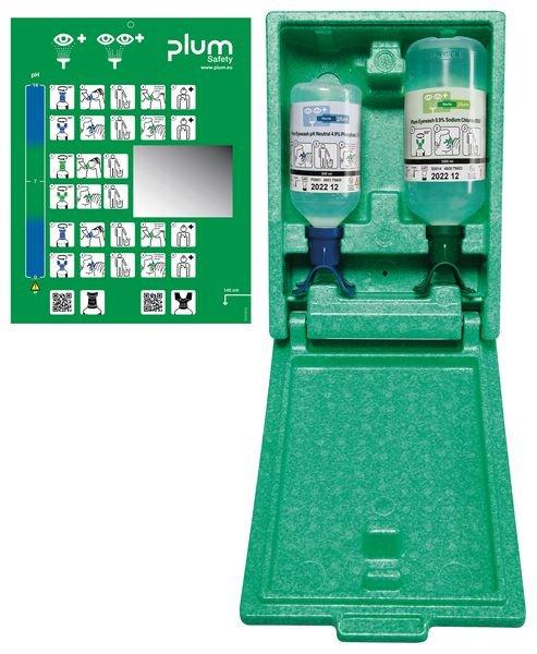 Coffret lavage oculaire pH Neutral et lave-oeil Duo Plum