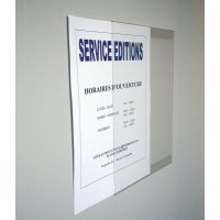 Porte-document en PVC