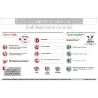 Consignes de sécurité pour établissements de soins