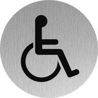 """Plaque de porte """"Handicapé"""""""