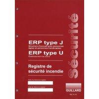 Registre de sécurité incendie pour ERP type J et U
