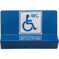 """Signalétique braille 3D """"Toilettes handicapés"""""""
