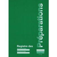 Registre des préparations en pharmacie