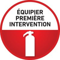 Badges équipiers d'intervention