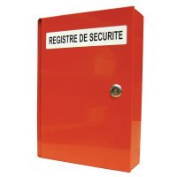 Coffre à registres de sécurité
