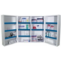 Armoire à pharmacie Medi Basic 2 portes - garnie