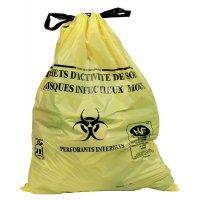 Sacs poubelles DASRI pour déchets infectieux