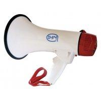 Mégaphone porte-voix avec sirène