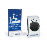 Carillon d'appel pour rampe d'accès ERP