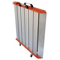 Rampe d'accès ERP pliante en aluminium