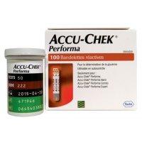 Bandelettes de glycémie Accu Chek® Performa et Nano
