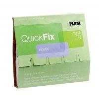 Recharge pansements adhésifs élastiques QuickFix PLUM