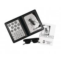 Test optométrique de la mouche