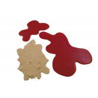 Kit 3 flaques sang et régurgitation