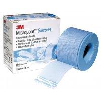 Sparadrap Micropore silicone