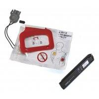 Pack électrodes et batterie pour défibrillateur Lifepak CR® Plus
