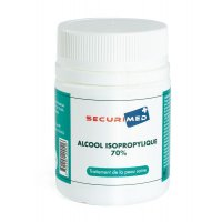 Alcool isopropylique 70% flacon 60 mL