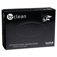 Boîte 200 lingettes pour lunettes b-clean Bollé Safety