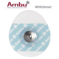 Electrodes ECG à pression ovales Ambu® WhiteSensor