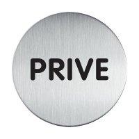 Plaque de porte Privé