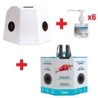 Offre pack 2 caissons pédagogiques et 6 gels phosphorescents