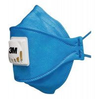 Masque jetable agroalimentaire Aura™ FFP2 ou FFP3 3M
