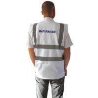 Gilet de sécurité infirmier