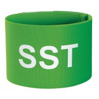 Brassard élastique vert sérigraphié SST
