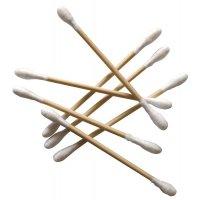 Coton-tiges en bois jetables