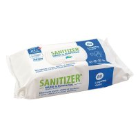 Lingettes désinfectantes mains et surfaces Sanitizer®