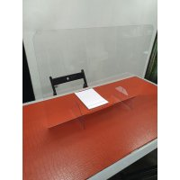 Protection anti-postillons en plexiglas