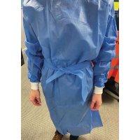 Blouse chirurgicale à usage unique avec manches jersey
