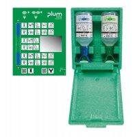 Coffret lavage oculaire Plum Duo 500ml NACL + 500ml PH