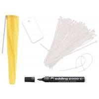 Kit d'inspection hebdomadaire pour douches et lave-yeux de sécurité