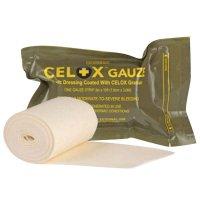 Bande de gaze hémostatique Celox