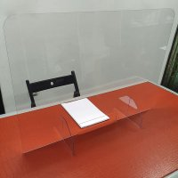 Protection anti-postillons en plexiglas