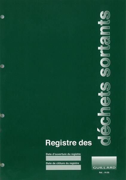 Registre chronologique des déchets sortants
