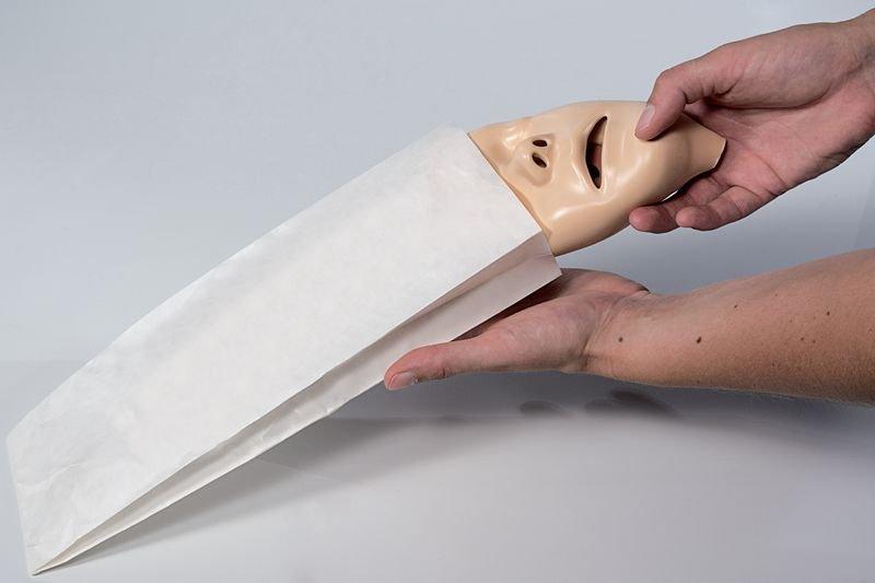 Pochettes papier pour masques de visage - Securimed